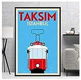 JCYMC Leinwand Bild Weltreise Taksim Tel Aviv Toronto