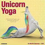 Unicorn Yoga 2021 Wall Calendar