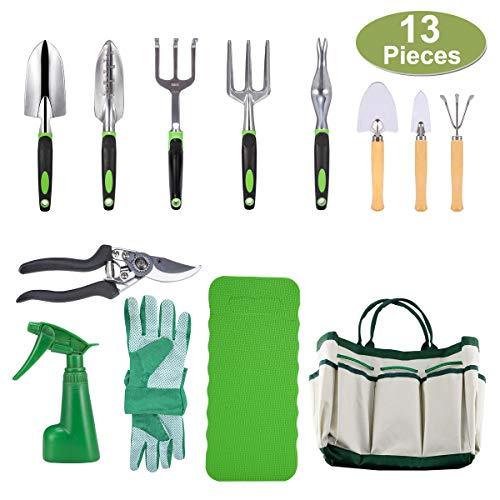 crenova-10-piece-garden-tools-set-gardening-toolspruning-shearsgarden-glovesgarden-totekneeling-pad-and-garden-sprayer-add-3-free-piece-mini-gardening-tool-set-best-gift-for-women-and-men