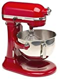 KitchenAid Professional 5 Plus Stand Mixer RKV25G0XER, 5-Quart, Empire Red,...