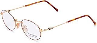 Carolina Herrera New York Frame for Unisex Gold Plated/Havana CH802-GP605-50-19-140