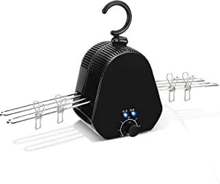 Electric Clothes Dryer Electric Dry Hanger Indoor Dryer Portable Hanger Detachable 0-5 Hours Can Be Timed Double Bracket F...