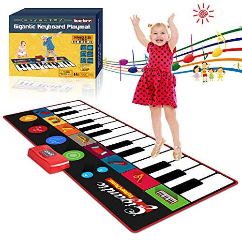 Kids Musical Piano Mat Toddlers, Gi…