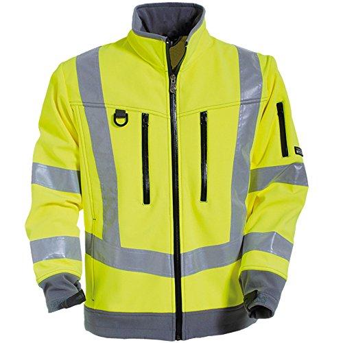 Tranemo 4832-48-92-M Softshell Jacke CE-ME HV Größe M in gelb/grau, M