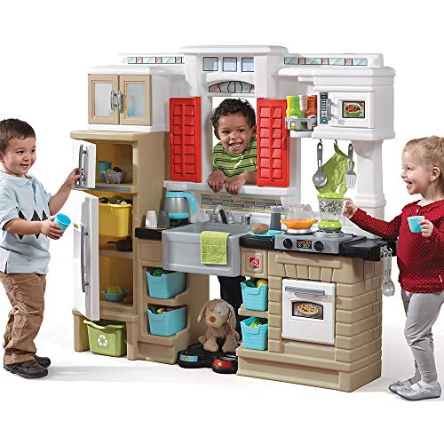 Step2 Mixin' Up Magic Play Kitchen | Plastic Kitichen Playset for Toddlers