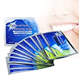 Teeth Whitening Strip,Professional Whitening Strips,Teeth White Strips for Sensitive Teeth, iFanze Mint Flavor Elastic Advanced Teeth White strips of 28,14 Packs