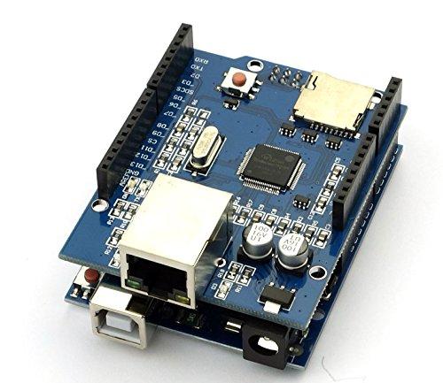 UNO r3 + Ethernet Shield w5100 Cable para UNO MEGA