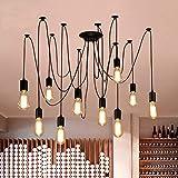 Oursun Araña luces de iluminación pendiente de la lám de techo, luces de techo...