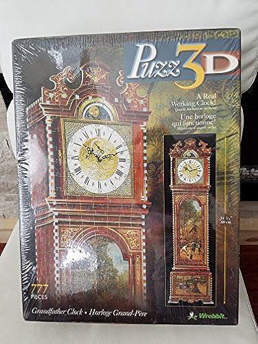 3D Gründfather Clock Puzzle 777pc by Wrebbit