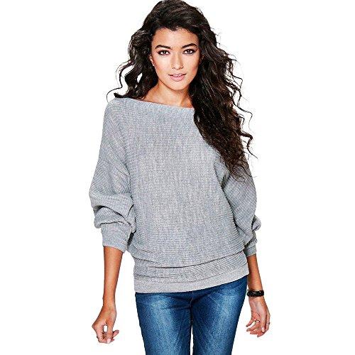 FRAUIT trui dames losse off-shoulder gebreide trui lantaarn halveren mouwen gebreide goederen mode elegant wondermooi streetwear