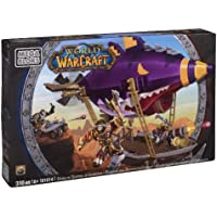 Mega Bloks 91014 World of Warcraft Zeppelin Goblin , color/modelo surtido