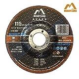 Merryland 4-1/2 X 1/4 Expert-line Grinding Wheel Steel Metal Iron INOX 10PCS