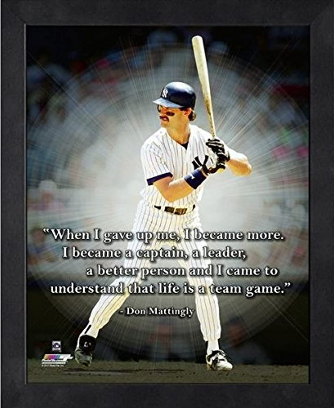 Don Mattingly NY Yankees ProQuotes Photo (Size: 9
