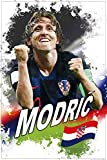 1art1 Fußball - Luka Modric, Kroatien XXL Poster 120 x 80