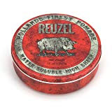 REUZEL Red Pomade, High Sheen, Water Soluble, 12 oz.