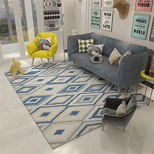 Woonkamerdecoratie, sofa, Scandinavisch design, creatief, groot tapijt, nachtkastje, rechthoekig (afmetingen: 140 × 200 cm) 120×160cm
