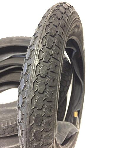 Set di 4 pneumatici e tubi flessibili 12 1/2 x 2 1/4 (12 pollici) 62-203 per passeggino, carrozzina, scooter, triciclo, rimorchio per bicicletta