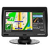 AWESAFE 7 inch Sat Navs for Cars 2020 Europe UK Ireland Maps, GPS Navigation for Car Truck Lorry Motorhome Includes Postcodes, Speed Camera Alerts POI FREE Lifetime Map Updates