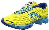 Newton Running Damen Distance Elite Laufschuhe, Gelb (Neon Yellow/Blue 001), 41.5 EU