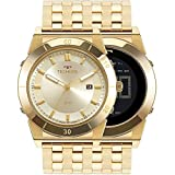 Relógio Technos Masculino Dourado Pulseira Aço Dourado