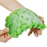 Goldge 37-Fach Eiswürfelform Silikon Mit Deckel Eiswürfelbehälter Eiswürfel Eiswürfelbox Eiswürfelform