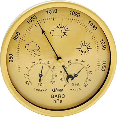 "Estación meteorológica 3 en 1 Eisco Labs – 5.12"" de diámetro"