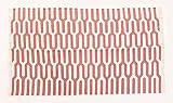 Juwel Fab Art, 3 x 5ft indische Block mit carpet100 mit Yoga-Matte Teppich Wende-Print mit großer Teppich Boden Teppich traditionellen indischen Design/Wohnzimmer/Schlafzimmer/Deko-Teppich 91x152 cm