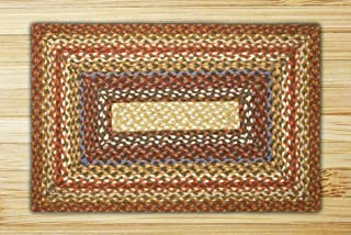 Earth Rugs Rug, 3 x 5', Honey/Vanilla/Ginger