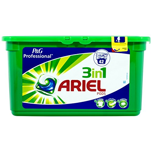 Ariel Professional 3 w 1 kapsułki do mycia Liquitabs, 42 WL – 1 sztuka w opakowaniu