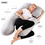 Chilling Home Pregnancy Pillow, 55 inches Full Body Pillow...