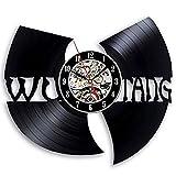 Disco De Vinilo Reloj De Pared Mute Wu Tang Clan Hip-Hop Ban
