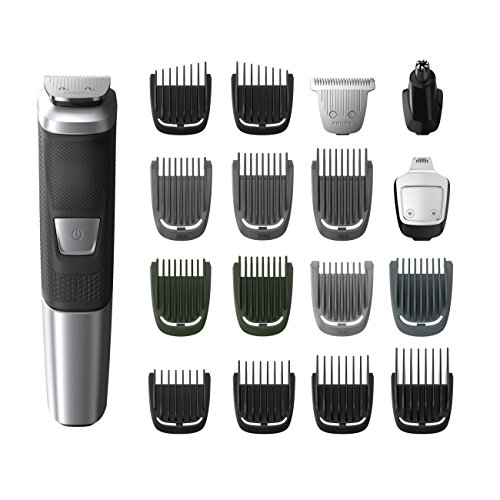 Philips Norelco Multigroom All-In-One Trimmer Series 5000 With 18Piece, No blade oil Needed,...