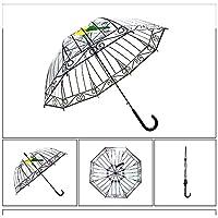 超軽量 透明雨傘 8本骨 長傘 撥水耐風 晴雨兼用傘 大きい 日傘 自動オープン 男女兼用