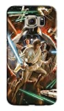 CASE LOCK LTD -SW Darth Vader Storm Trooper Han Solo Yoda R2D2 Jedi -Hard Rubber Case for New Samsung Galaxy S7 Edge, Made in The USA -Style 6