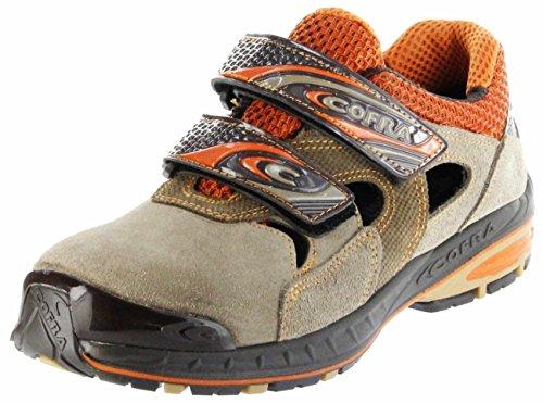 Cofra 19080-001.W42 Chaussures de sécurité Shutout S1 P SRC Taille 42 Gris