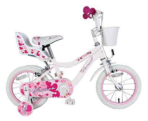 Passion 12 F.lli Schiano Fahrrad weiß/pink