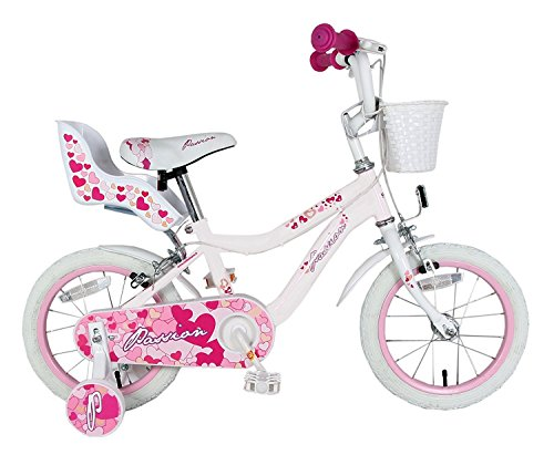 Bicicleta Passion 12 F.lli Schiano blanco/rosa