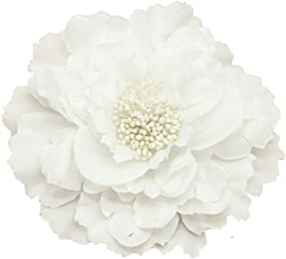 Kewl Fashion Women's Bohemia Peony Flowers Hairpin Hair Clip Flower Brooch