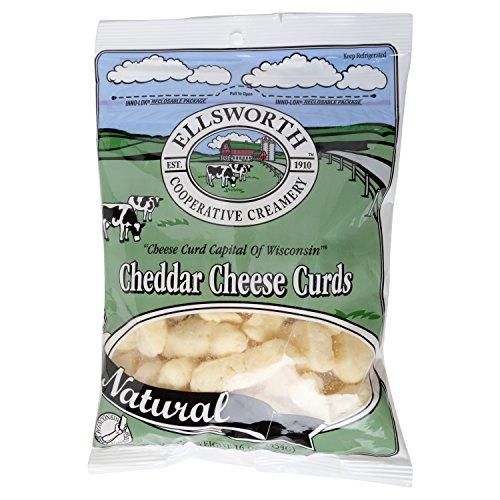 Ellsworth Natural Cheese Curds, 16 Oz
