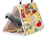 chunnron Cage Rat Cage Perruche Perruche Jouets Petit Lit pour Chien Nid d'oiseau Suspendu Cabane pour Perroquet, Perruches, Perruche, Calopsittes 2,m