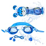 """Sportastisch Kinder Schwimmbrille """"Swim Buddy Dolphin"""" mit einstellbarem Nasensteg,..."""