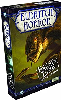 Eldritch Horror Forsaken Lore Expansion Strategy Game