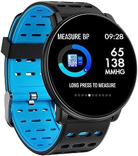 HZYYZH La Actividad De Seguimiento De La Frecuencia Cardíaca Brazalete De Monitoreo Inteligente De 1,3 Pulgadas De Alta Definición 2.5D Relojes Inteligentes De Los Hombres Y De Las Mujeres,Azul