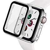 Ritastar for Apple Watch Cover with Screen Protector 42mm,Thin Plating Metal Bumper Case and Hard PET Protective Film,High Sensitive Touch,Impact Resistant,No Bubble for iWatch Series 3/2/1,Silver