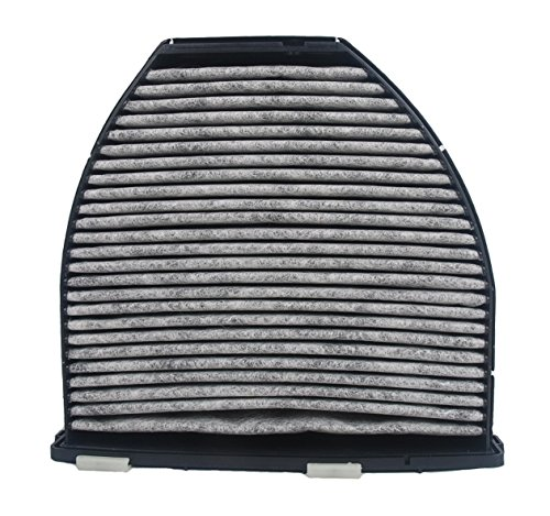 OxoxO Compatible with Le Filtre à air de la Cabine Charcoal Carbon (CUK 29 005) 2128300218 2128300318 pour Mercedes-Benz C180 C200 C220 C230 C250 C280 C300 C320 C350 C63 W212 E200 E260 E300