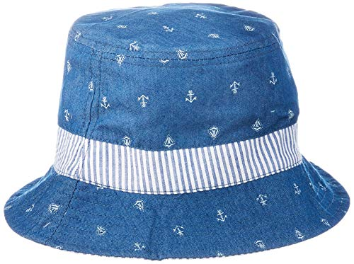 maximo Jungen Hut, Mütze, Blau (Denim Blue-Boot-Anker/Navy 6348), 53