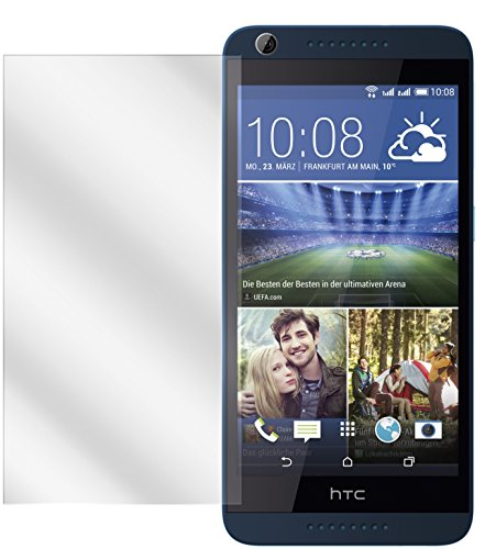dipos I 2X Schutzfolie klar kompatibel mit HTC Desire 626G Folie Bildschirmschutzfolie