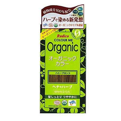 Radico Colour Me Organic Pflanzenhaarfarbe Honig-Blond (bio, vegan, Naturkosmetik) HonigBl