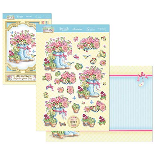 Hunkydory Crafts Springtime Wishes Deco-Large Topper Set - Gardening Gifts