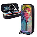 Pencil Case Big Capacity Storage Pen Pencil Pouch Desk Organizer Portable Bag Holder with Zipper - Anime Death Note Yagami Light & Ryuk